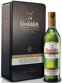 Glenfiddich Scotch Single Malt The Original 1963 Retro...